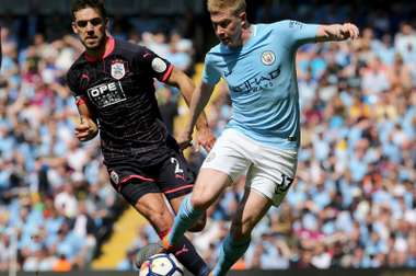 De Bruyne has been sidelined with injury since City's opening game at Arsenal. EFE/Archivo