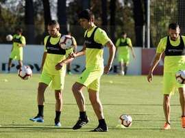 El Huesca no podrá contar ni con Brezanzic ni con Jovanovic. EFE