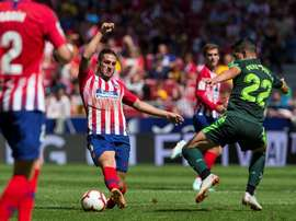 Eibar - Atlético de Madri: onzes iniciais confirmados. EFE