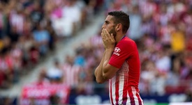 Koke said he is not concerned by the whistle during Atletico's match with Leverkusen. EFE