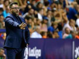 Antonio Mohamed veut croire en la victoire contre Liverpool. EFE/Archivo