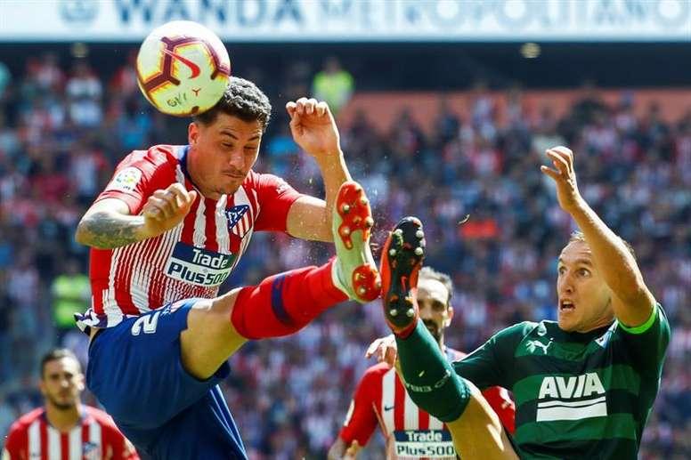 El Eibar recibe al Atlético. EFE