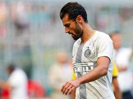 Candreva, sin muchas oportunidades en el Inter. EFE/EPA