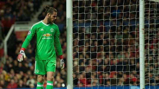 De Gea is yet to agree a new deal at Manchester United. EFE/Archivo