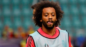 Juventus could try to tempt Marcelo away from Real Madrid. EFE/Archivo