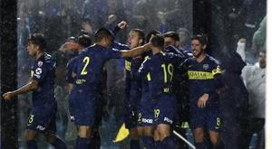 Boca ganó. EFE