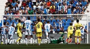 Rolan se estrenó en la banda en el duelo ante el Villarreal. EFE