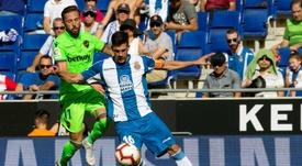 Javi López, cada vez más histórico con el Espanyol. EFE