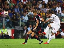 El Milan se dejó dos puntos más. EFE