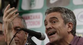 Piatti vertió elogios hacia Juanma Lillo. EFE