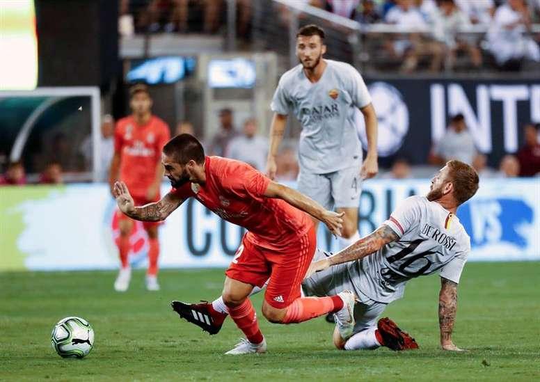 Roma y Real Madrid ya se enfrentaron en pretemporada. EFE