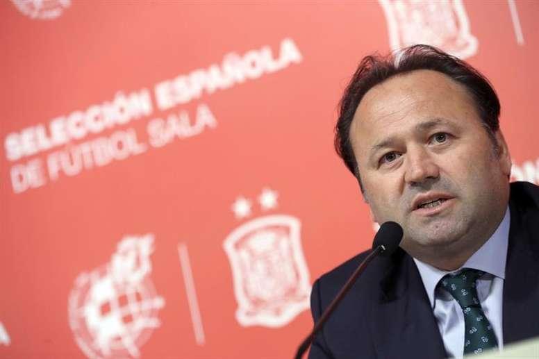 Fede Vidal recordó la dificultad del grupo de clasificación. EFE/Archivo
