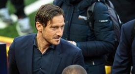 Totti será homenajeado por la Roma. EFE