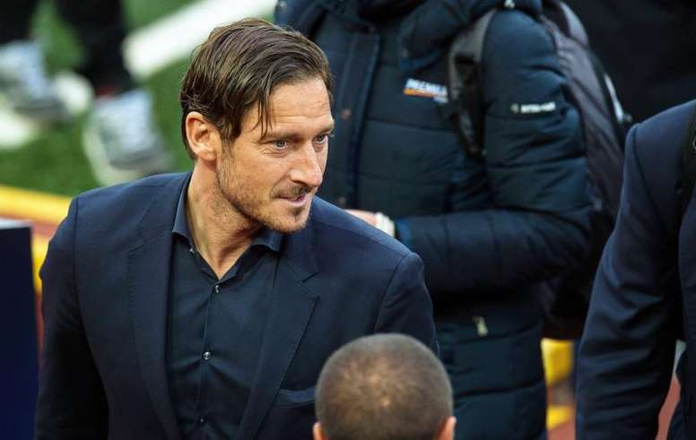 Totti rechazó al Madrid. EFE