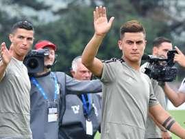 Juventus Cristiano Ronaldo (I) y Paulo Dybala. EFE/EPA/Archivo