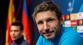Van Bommel alabó a Messi. EFE