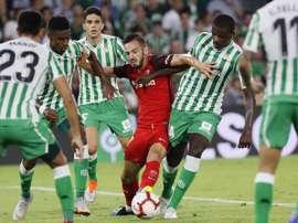 Sevilla y Betis ya conocen sus emparejamientos. EFE/Archivo