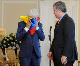 Pékerman se despidió con honores de Colombia. EFE