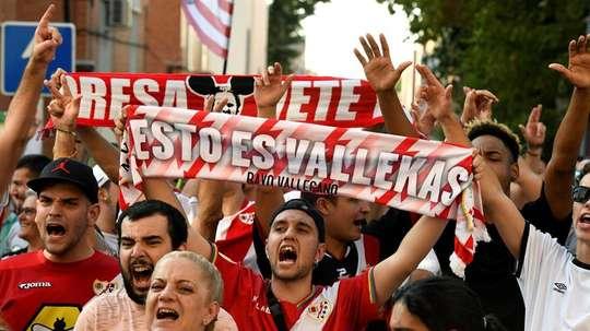 El estadio de Vallecas volverá a abrirse. EFE