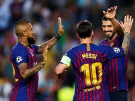 Messi fait partie de l'équipe idéale de l'UEFA. EFE