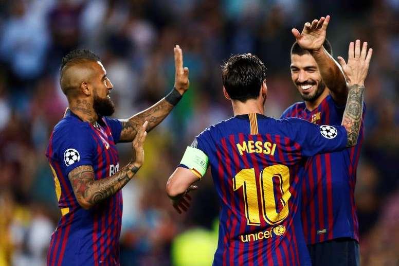 Le Barça ne manque pas ses débuts. EFE