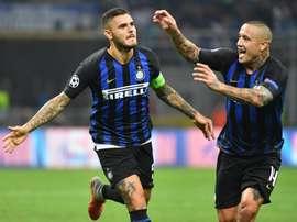Icardi poderá voltar a ser convocado pelo Inter. EFE