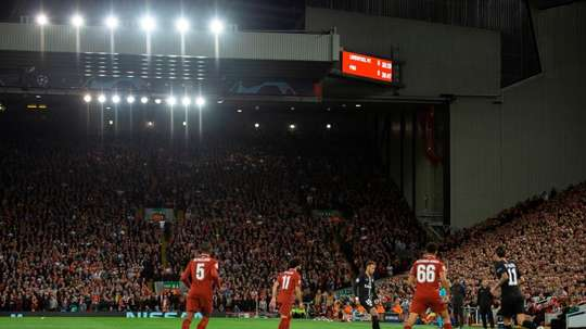 Liverpool are looking to expand the Anfield Road end of the ground. EFE