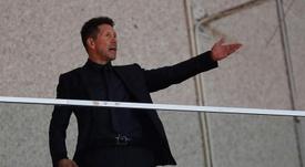 Lucas Hernández aseguró que la plantilla siguió las órdenes de Simeone desde la distancia. AFP