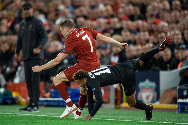 Liverpool consiguió un agónico triunfo ante el PSG