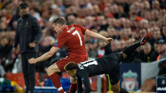 James Milner has started the season on fire for Liverpool. EFE