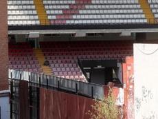 El estadio de Vallecas, a punto para la reapertura. EFE/Archivo