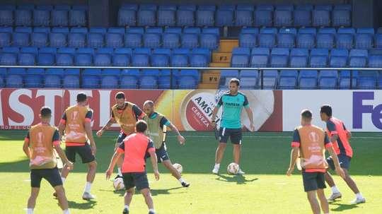 El Villarreal juega Europa League. EFE