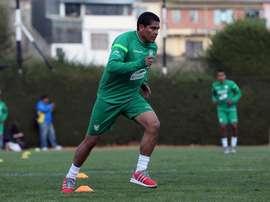 La CONMEBOL ya ha comunicado la sanción al club de Zenteno. EFE