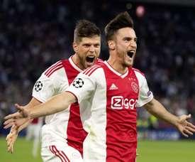 O argentino analisou as opções do Ajax na Champions. EFE
