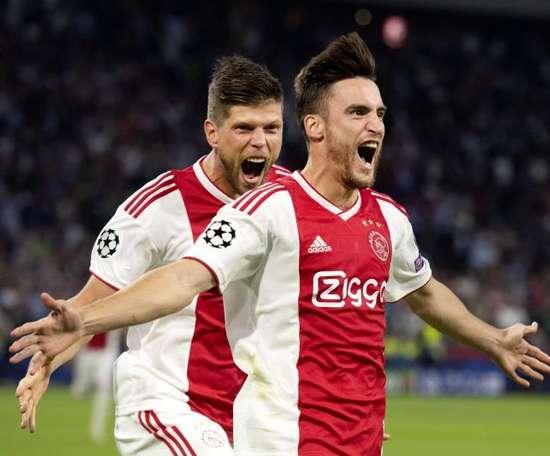Tagliafico ficará no Ajax. EFE