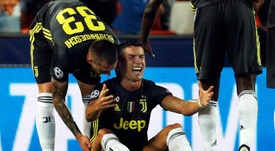 Cristiano Ronaldo could not avoid tears. EFE