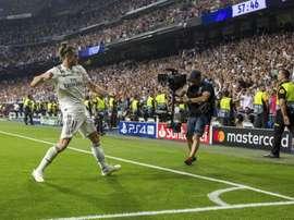 Bale évite les blessures. EFE
