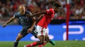 Gedson Fernandes pode estar a caminho da Premier League. EFE