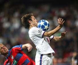 Mario Fernandes interesó al Madrid hace algunos años. EFE/MARTIN DIVISEK