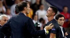 Cristiano a le soutien de son président. EFE