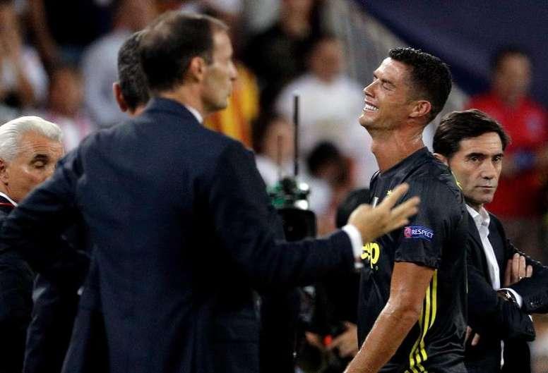 Cristiano Ronaldo saura ce jeudi. EFE