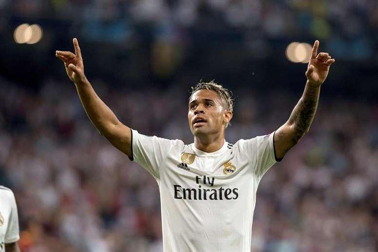 Mariano, el único positivo en COVID-19 del Real Madrid. EFE