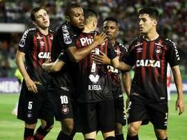 Paranaense se paseó ante Sport Recife. EFE