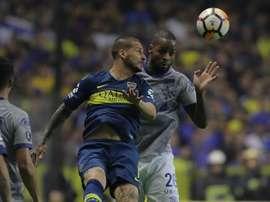Dedé podrá jugar la vuelta ante Boca. EFE