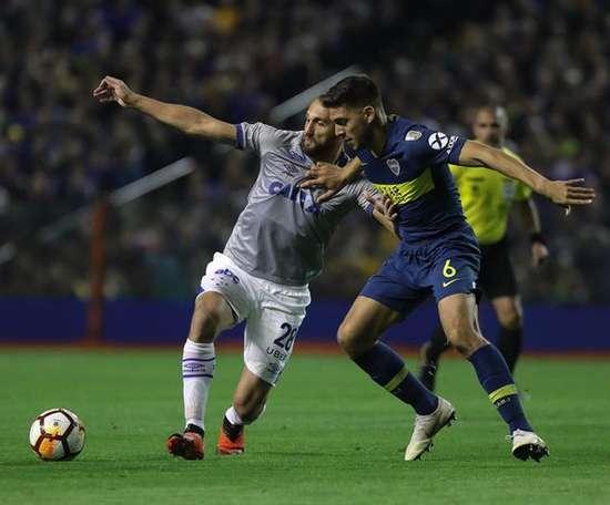 Magallán achève son contrat avec Boca Juniors en 2021. EFE