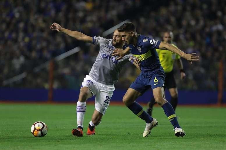 Magallán afronta la parte importante de la temporada con Boca. EFE