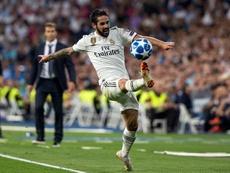 El Madrid asedió la portería de la Roma, pero el Atlético fue más eficaz en sus disparos. EFE
