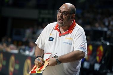 El técnico de la selección de España, Lucas Mondelo. EFE/Archivo