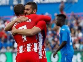 Record impressionnant de l'Atlético face à Getafe. EFE