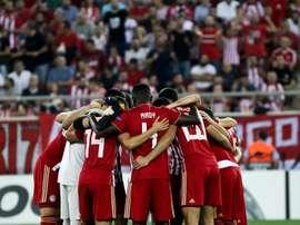 El Olympiacos se jugará una plaza en la Champions con el Omonia. EFE/Archivo